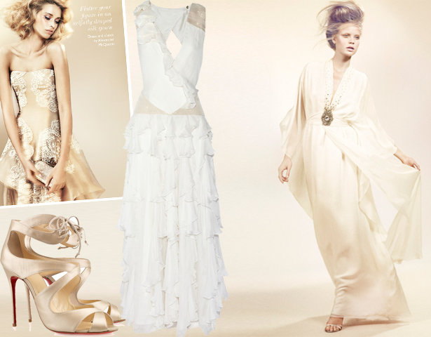 Wedding Gown Guide: For Savvy Chicks Who May Sew Their Own