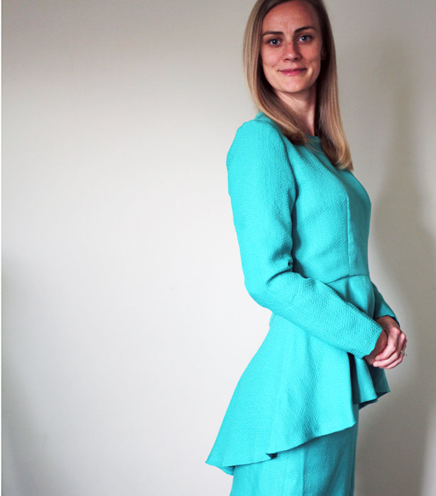 The Making of a Peplum Top and Pencil Skirt – Sewing Blog ...