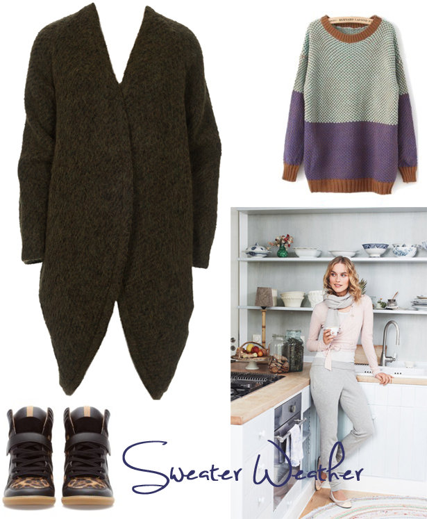 Get Cozy: Styling Oversized Sweaters – Sewing Blog | BurdaStyle.com