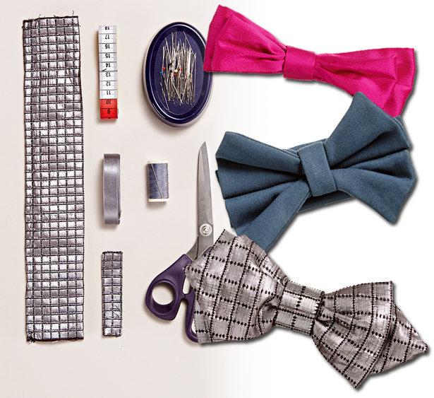 Bow Tie DIY – Sewing Blog   BurdaStyle.com