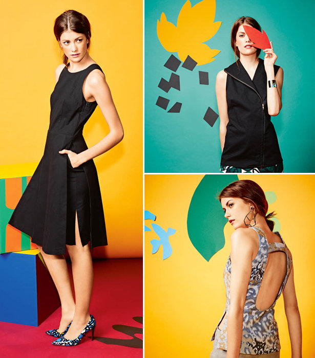 Shapes and colors collection dresses