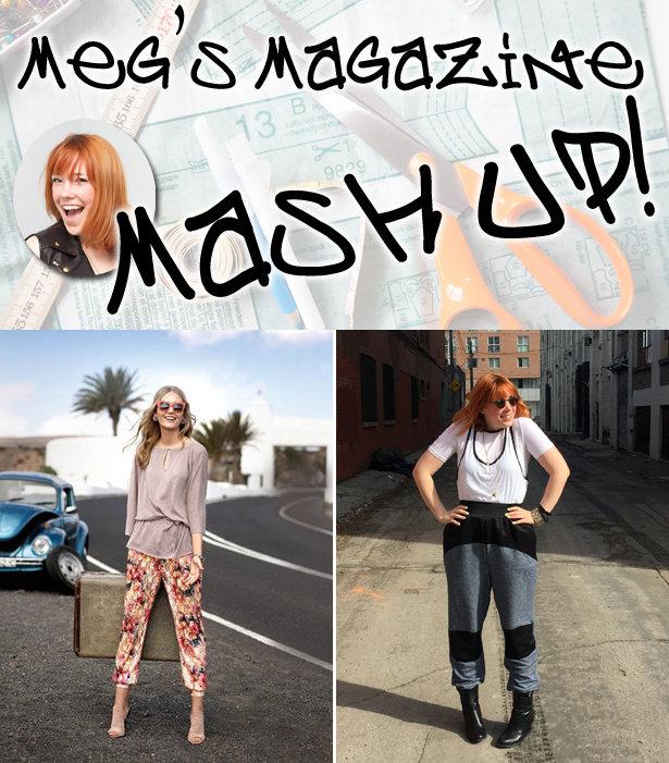 Meg 39 s magazine mash up joggers and layered shirt debut for I run for meg shirts