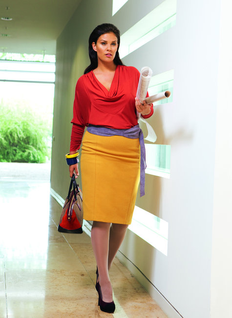 wool pencil skirt plus size 10 2011 136a sewing