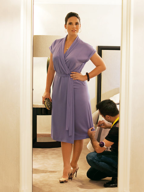 Wrap Dress Plus Size 02 2011 139 Sewing Patterns