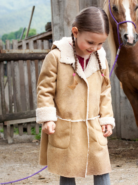 Shearling Children's Coat 10/2012 #154 – Sewing Patterns ...