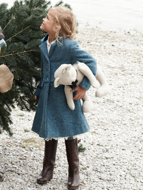 Girl's Dress Coat 12/2012 #156 – Sewing Patterns | BurdaStyle.com