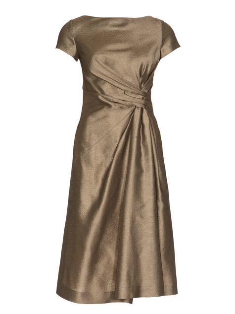 لباس طلايي