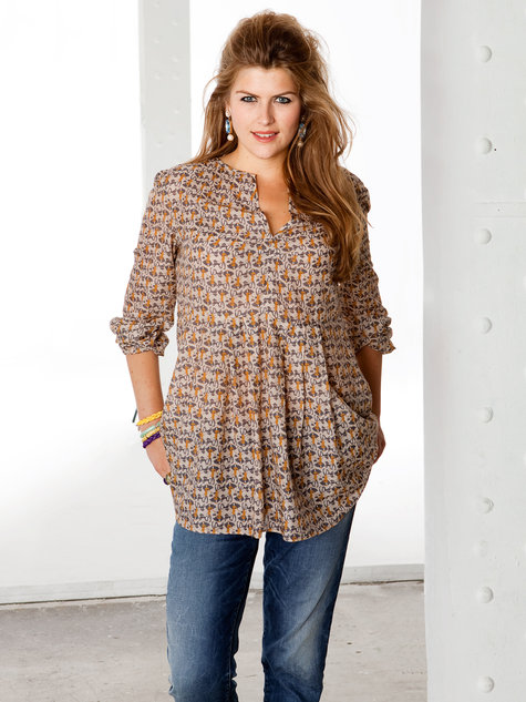printed tunic (plus size) 01/2013 #133a – sewing patterns
