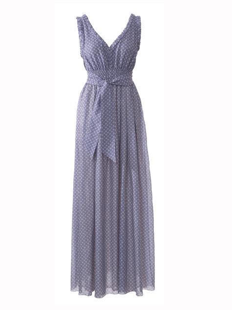 Smocked Maxi-Dress 04/2013 #125 – Sewing Patterns | BurdaStyle.com