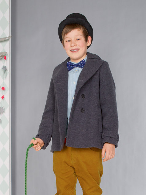 Boy&39s Peacoat 08/2013 144 – Sewing Patterns | BurdaStyle.com