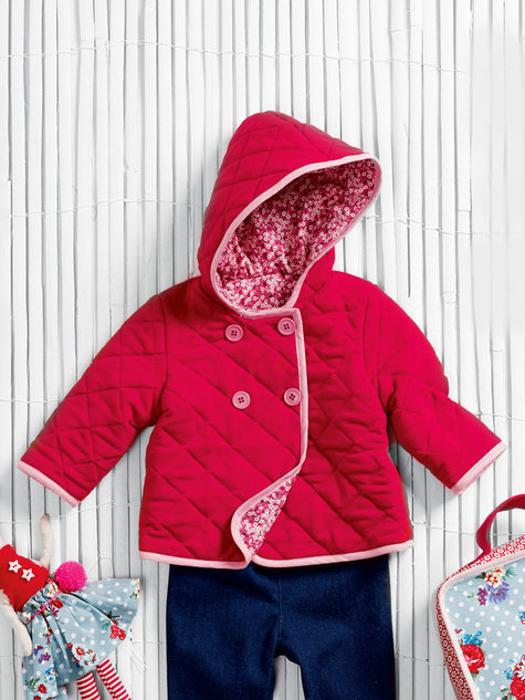 Quilted Baby Coat 09/2013 #143 – Sewing Patterns | BurdaStyle.com : baby quilted jacket - Adamdwight.com