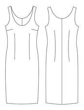 Fitted_dress_sloper_technical_image_listing