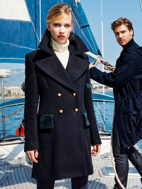 Navy Peacoat 10/2014 #125 – Sewing Patterns | BurdaStyle.com