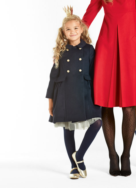 Girl's Double Breasted Coat 12/2015 #145 – Sewing Patterns ...