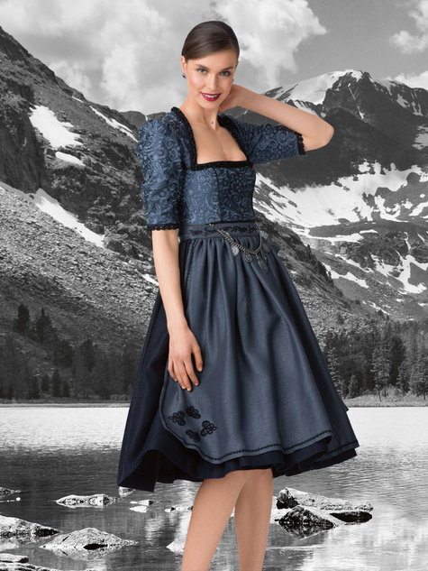 3 4 sleeve dirndl dress 09 2015 126 sewing patterns. Black Bedroom Furniture Sets. Home Design Ideas