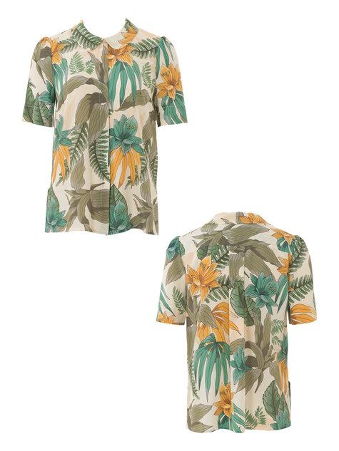 Peter pan collar blouse sewing pattern long blouse with for Peter pan shirt pattern