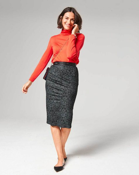 gathered pencil skirt 10 2017 107a sewing patterns. Black Bedroom Furniture Sets. Home Design Ideas