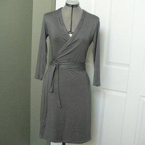Knitting Pattern Wrap Dress : 98454   Sewing Patterns BurdaStyle.com