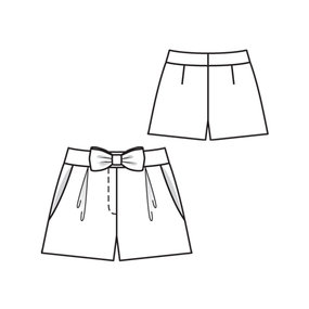Shorts with Bow 06/2010 #116