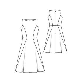 A Line Dress 5/2011 #108B U2013 Sewing Patterns | BurdaStyle.com
