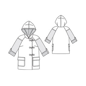 Duffle Coat 09/2011 #113 – Sewing Patterns | BurdaStyle.com