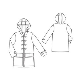 Duffle Coat 11/2011 #111 – Sewing Patterns | BurdaStyle.com