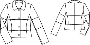 Peter Pan Collar Jacket 12/2011 #103