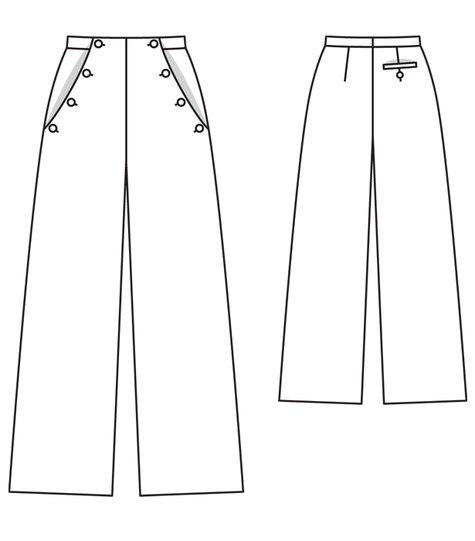 Sailor Pants 04/2012 #125
