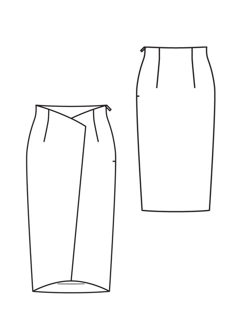 Wraparound Skirt 05/2012 #125