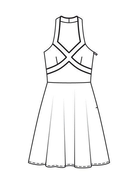 Polar 36 10l 43030 likewise Lolita Solstice Dress furthermore Skater Skirt also Hulakitty Pattern Download as well Printable Coloring Pictures Tangled. on circle skirt template