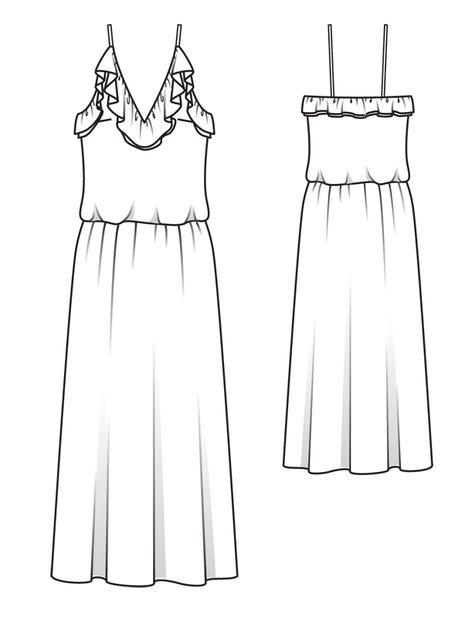 Ruffle Wedding Dress 03/2012 #103