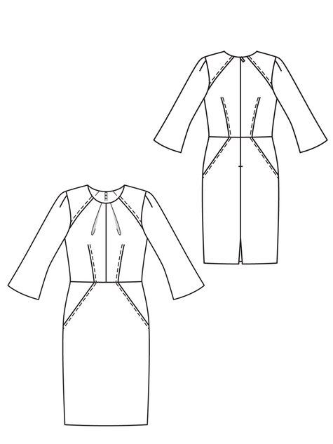 платье Burda