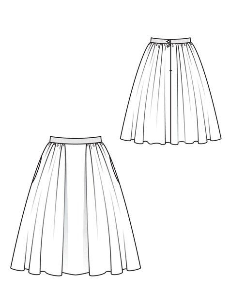 Tweed Circle Skirt 10/2010 #117