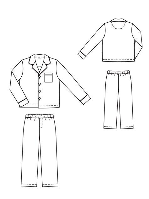 Boy's Pajama Set 12/2010 #135