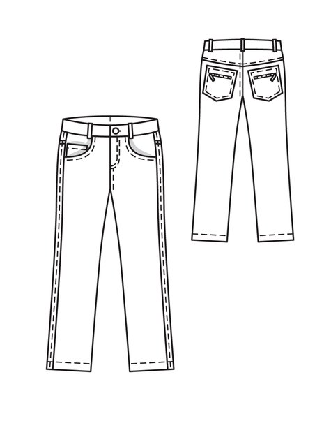 Skinny Jeans Drawing Rating