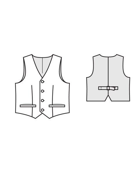 Boy's Waistcoat 02/2013 #145