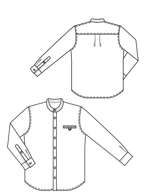 Men's Crease Shirt 04/2013 #137 – Sewing Patterns ...