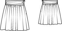 Girl's Gathered Skirt 06/2013 #148