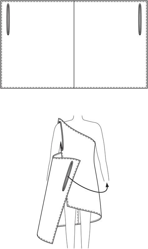Draped Dress 07/2013 #126