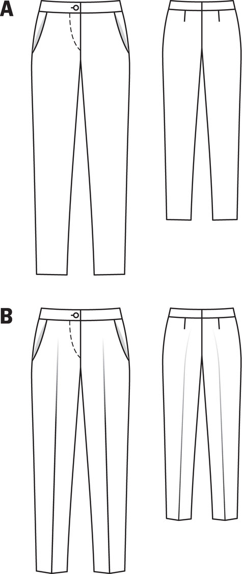 26 model women pants technical drawing � playzoacom