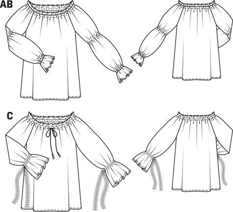 Peasant Costume Blouse 01/2013 #118B