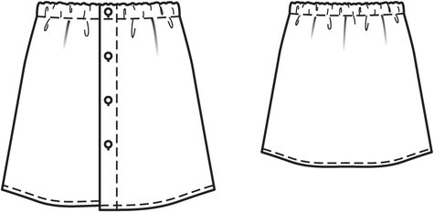 Flannel Skirt 11/2013 #142