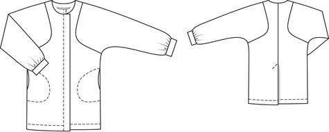 Windbreaker 04/2012 #114 – Sewing Patterns | BurdaStyle.com