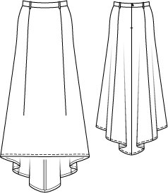Train Maxi Skirt 092014 besides V64 Side View Fashion Croquis as well Mens Sketches Flats likewise Clothes Drawings For Embroidery moreover 22897. on easy sketches skirts