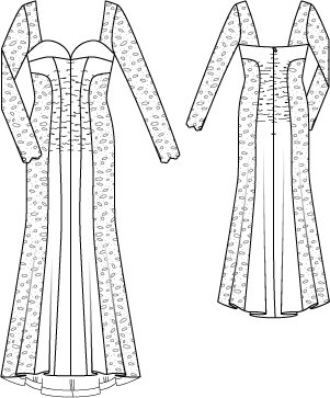Hourglass Lace Gown 11/2014 #121