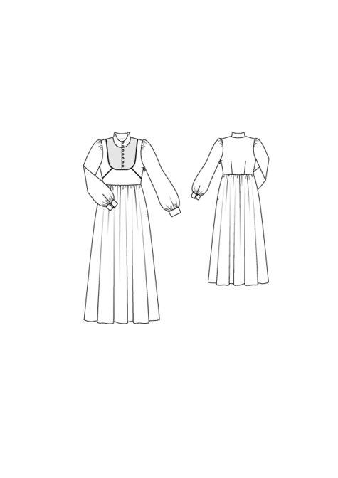 High Neck Maxi Dress 09/2015 #101
