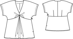 Kimono Tunic (Plus Size) 01/2012 #130