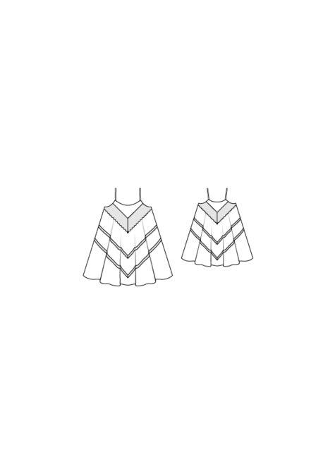 Girlu0027s Tent Dress 05/2016 #136  sc 1 st  Burda Style & Girlu0027s Tent Dress 05/2016 #136 u2013 Sewing Patterns | BurdaStyle.com