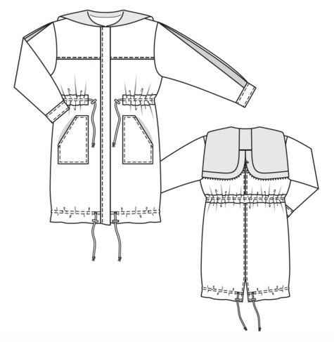 parka plus size 10 2017 125 sewing patterns. Black Bedroom Furniture Sets. Home Design Ideas