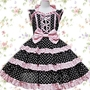 Black-with-white-dot-bow-ruffles-cotton-lolita-dress-13003-1_large